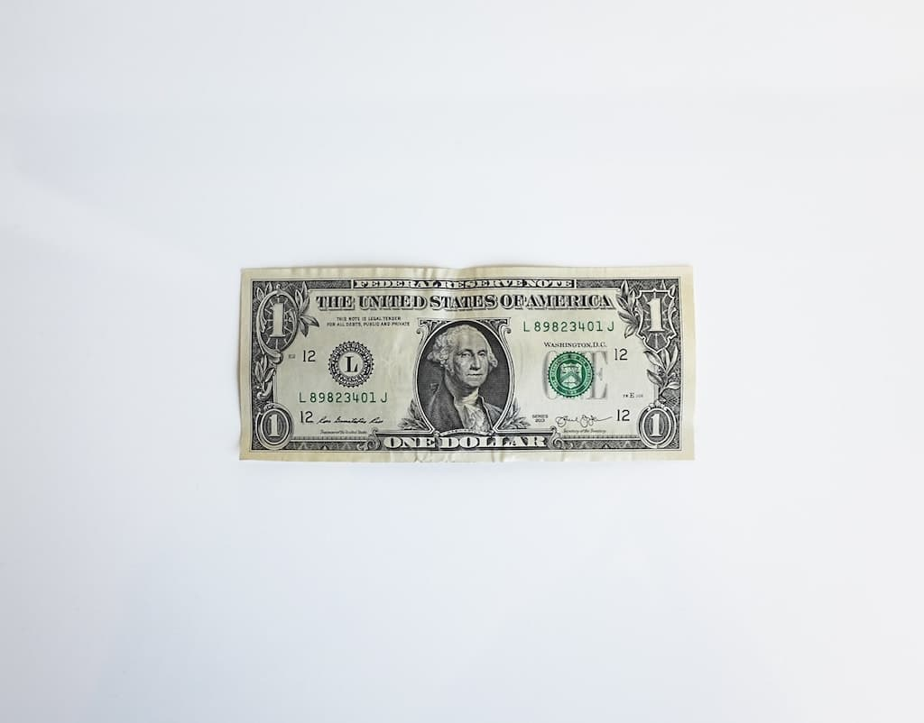 single dollar bill